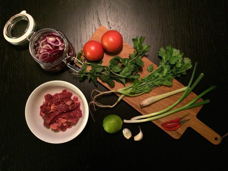 Recept: Kinesisk biffsallad