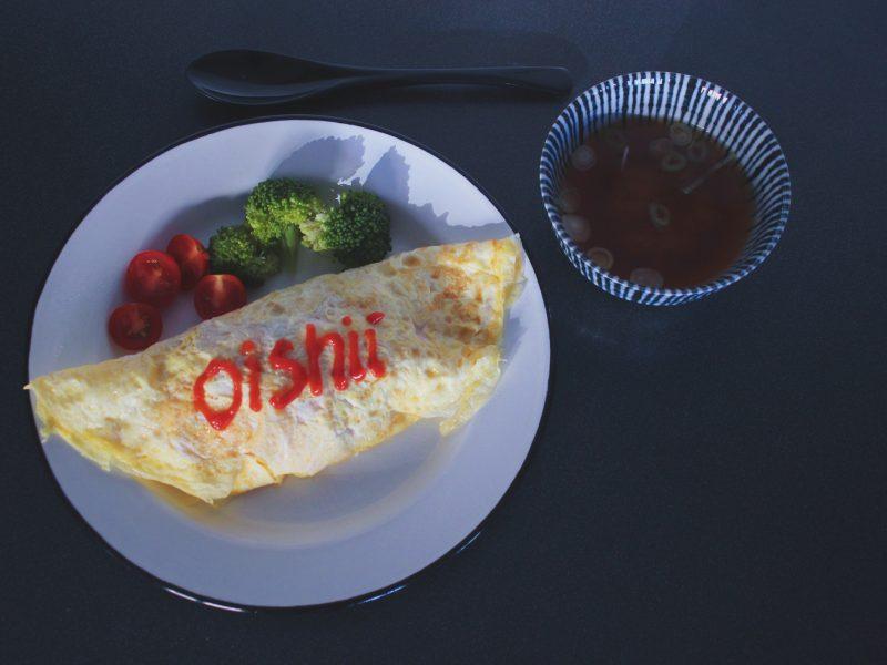Japansk omurice [オムライス]