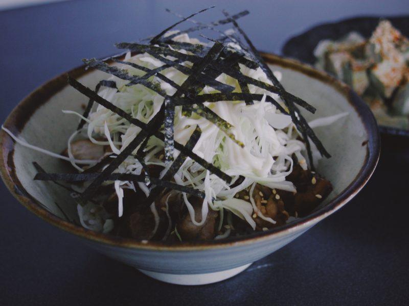 Donburi med teriyaki kyckling