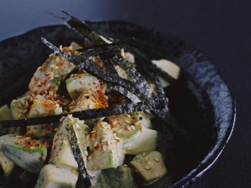 Japansk avocadosallad med wasabi